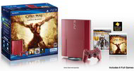 God of War Legacy bundle with red PS3 coming March 12