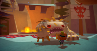 Tearaway trailer debuts fishy town of Sogport