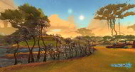 WildStar screens from the Deradune zone