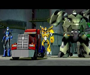 Transformers Prime: The Game Screenshots