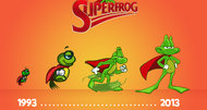 Superfrog HD announcement artwork