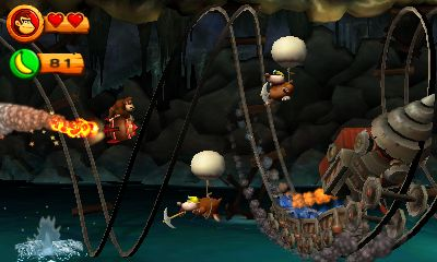 Donkey Kong Country Returns 3D Screenshots