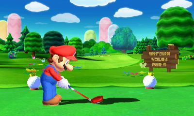 Mario Golf: World Tour Videos