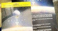 Pre-order materials for Bungie's Destiny leak
