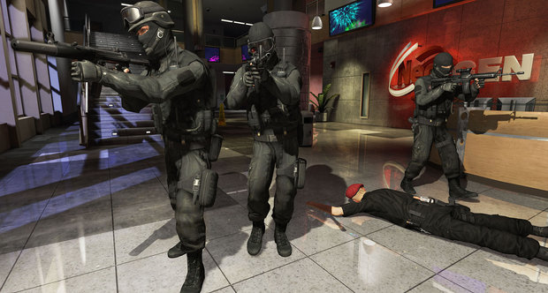 Takedown screenshot