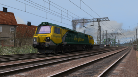 Train Simulator 2013 - Class 70 DLC Screenshot from Shacknews