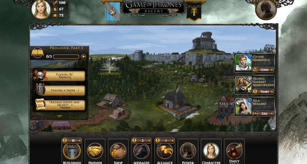 A Game of Thrones Ascent beta screenshots