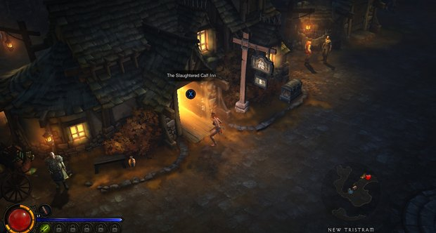 Diablo 3 screens on the PS3