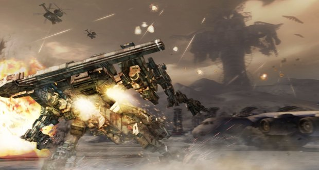 Armored Core: Verdict Day screenshots