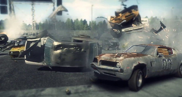 Bugbear's 'next car game' announcement trailer snap