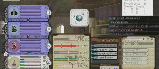Atelier Ayesha: The Alchemist of Dusk News