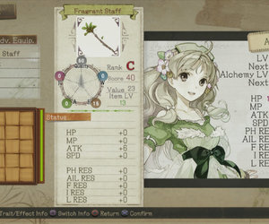 Atelier Ayesha: The Alchemist of Dusk Files