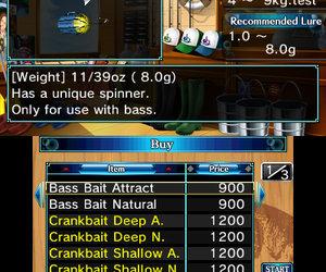 Super Black Bass 3D Screenshots
