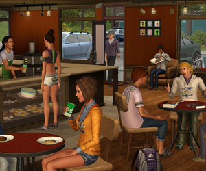 The Sims 3 University Life Chat