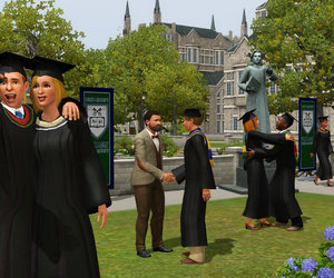 The Sims 3 University Life Screenshots