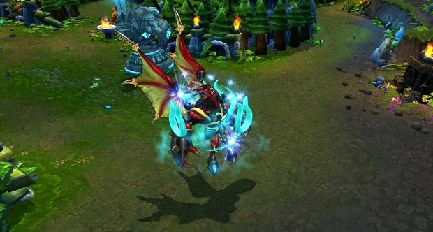 League of Legends Galio and Hecarim screenshots