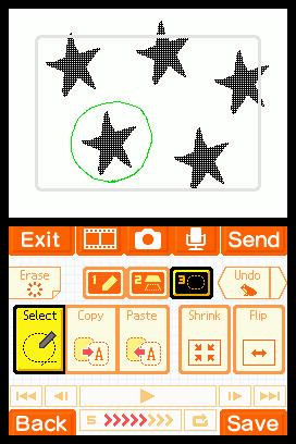 Flipnote Studio Screenshots