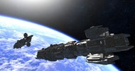 Infinity sandbox space sim to crowdfund combat spin-off