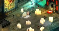 Transistor didn't always have Bastion's isometric viewpoint