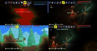 Terraria console split-screen screenshots