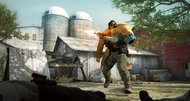 Counter-Strike: Global Offensive hostages piggyback to safety