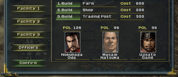 Nobunaga's Ambition: Iron Triangle News