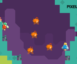 PixelJunk Nom Nom Galaxy Chat
