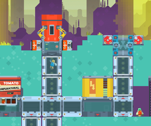 PixelJunk Nom Nom Galaxy Screenshots
