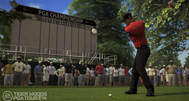 Tiger Woods PGA Tour 14 launch screenshots