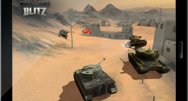 World of Tanks Blitz announcement screenshots