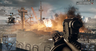Battlefield 4 story trailer punches a dog