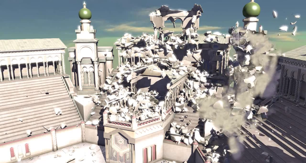 Nvidia Massive Destruction in Real-Time GDC 2013 tech demo
