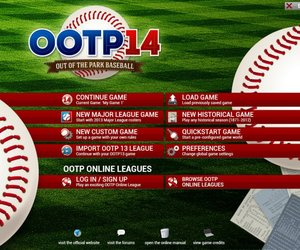 Out of the Park Baseball 14 Screenshots