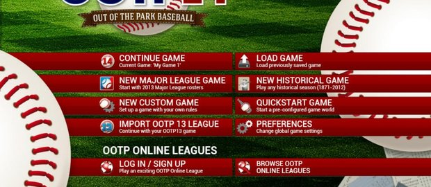 Out of the Park Baseball 14 News