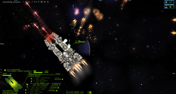 Starsector September 2011 screenshots