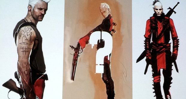 Early DMC Dante concept art