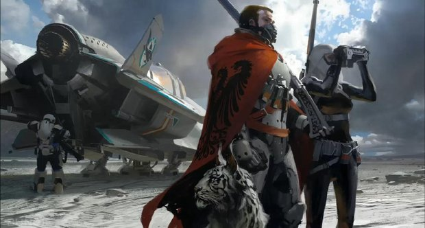 Destiny concept art from GDC 2013
