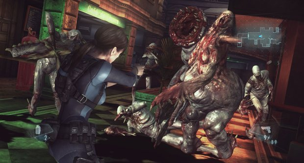 Resident Evil: Revelations PC screenshots