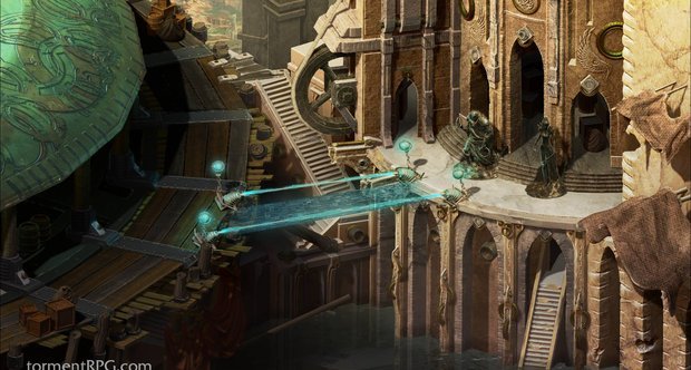Torment: Tides of Numenera Sagus Cliffs area