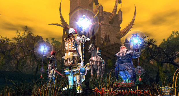 Neverwinter open beta announcement screenshots