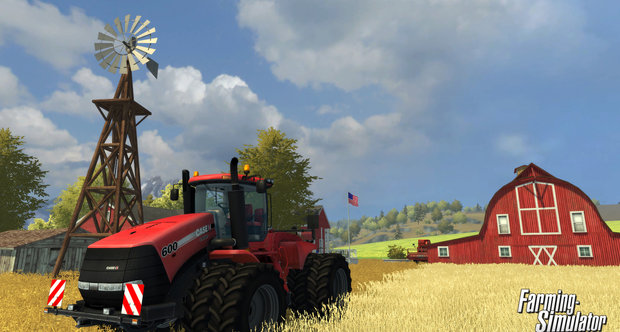 Farming Simulator first console screenshots