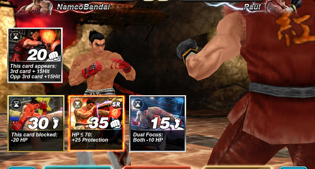 Tekken Card Tournament screenshot