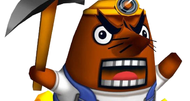 Animal Crossing's Mr. Resetti made optional because he made players cry