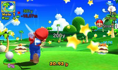 Mario Golf: World Tour Chat