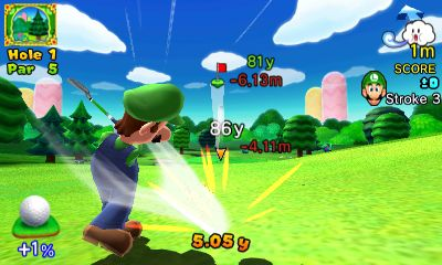Mario Golf: World Tour Files