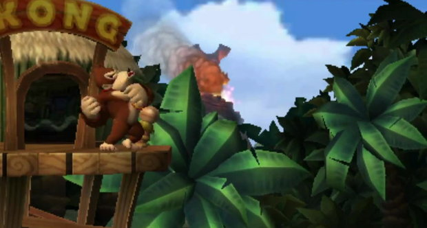Donkey Kong Country Returns 3D screengrabs