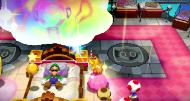 Mario & Luigi: Dream Team screengrabs