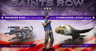 Saints Row 4 offers Commander in Chief edition
