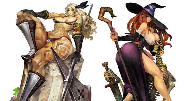 Dragon's Crown ladies