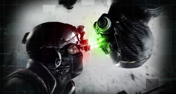Splinter Cell Blacklist spies vs mercs promo